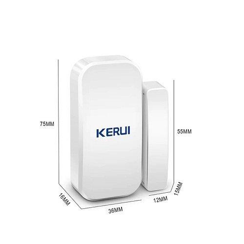 Беспроводной датчик открытия дверей и окон 433 МГц для gsm сигнализации KERUI