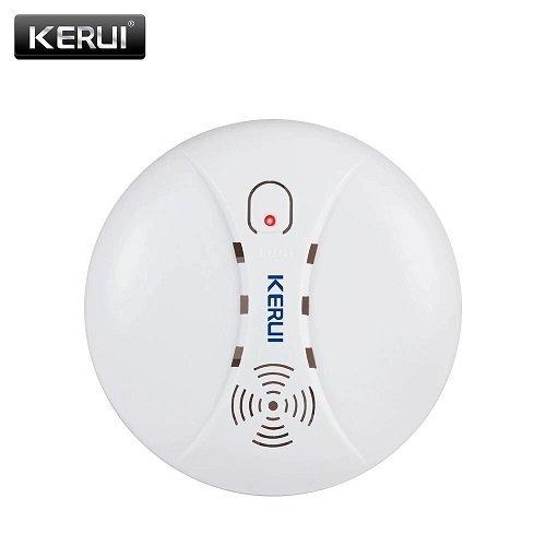 Беспроводной противопожарный детектор дыма 433 МГц для gsm сигнализации KERUI