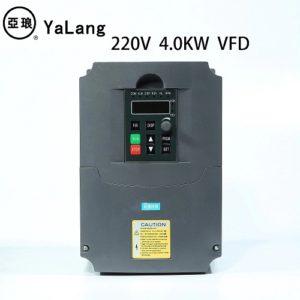 Частотный преобразователь вход 220 В 1 - фаза / выход 220 В 3 - фазы 3KW 4KW 5.5KW 7.5KW (на выбор)