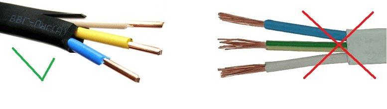 Какие виды проводок бывают и какие провода используются