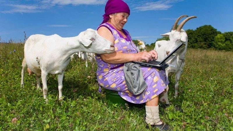 Как сделать интернет в деревне