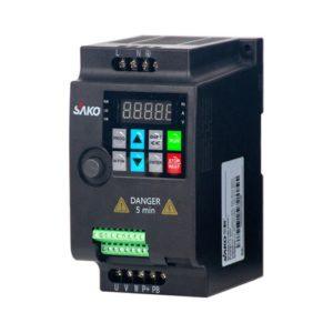 Преобразователь частоты SAKO SKI780 вход 220 В 1 - фаза / выход 220 В 3 - фазы 0.75 кВт/1.5 кВт/2.2 кВт (на выбор)