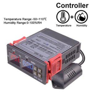 Термометр - гигрометр, регулятор температуры и влажности.