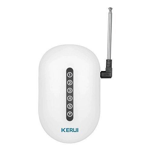 Усилитель сигнала, расширитель зоны действия беспроводных датчиков 433 МГц для gsm сигнализации KERUI